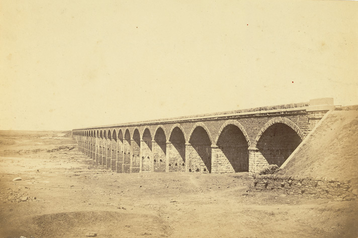 Railway Bridge [Bombay area].